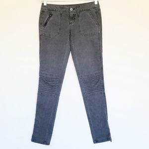 MOSSIMO Junior 1 Slim skinny Moto grey zip jeans